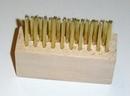 Voegenborstel van hout