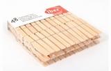 Wasknijpers hout  IBEX  48 stuks