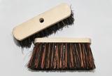 Straatbezem natuurvulling bruin/zwart 40 cm lang