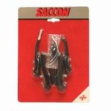 Saccon v-br set voor + achter zwart
