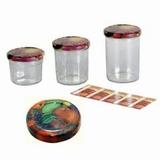 Jampot met twist-off deksel -230ml (6-Pack)