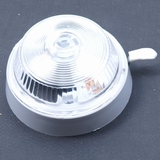 Binnenlamp Q 90 mm + schakelaar + lampje