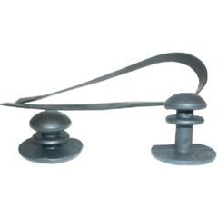 Knop voor Harmonica kniebeschermer