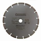 Diamantschijf -gesegmenteerd- 125x2x22,23mm