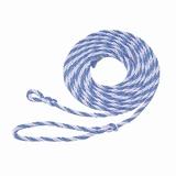 Koetouwen Polyprop blauw/wit 320cm - 12mm p/st