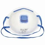 Stofmasker met ventiel, onschadelijk Fijnstof FFP1 à 3st.